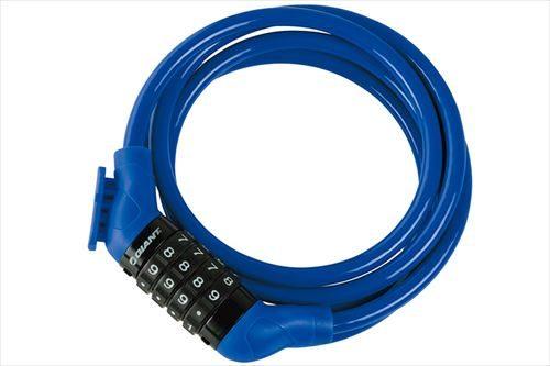 GIANT FLEX COMBO+ブルー タイヤルタイプ ロングケーブルロック 2530円税込み