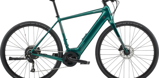 CANNONDALE QUICK Neo Emerald 2020