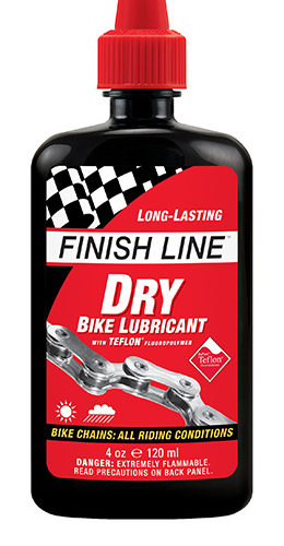 FINISHLINE Dry Bike Lubricant 120ml 1100円税込み