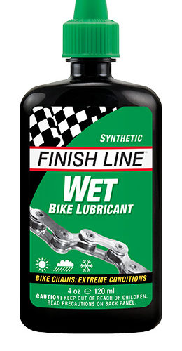 FINISHLINE Wet Bike Lubricant 120ml 1210円税込み