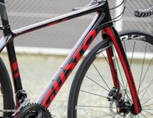 GUSTO RCR TEAM SPORT DISC Glossy Black/Lave Red 2020
