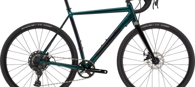 CANNONDALE CAADX 2 2021 Emerald